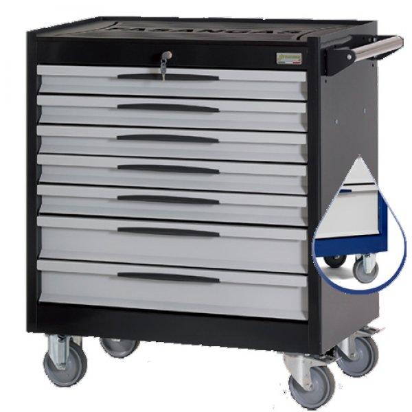 Εργαλειοφόρος τροχήλατος FG 104 (μπλέ) 7 συρτάριων & συλλογή 258 εργαλείων σε θήκες FG 104B/AS258 FASANO Tools | Εργαλεία Συνεργείου - Εργαλειοφόροι - Συλλογές Εργαλείων | karaiskostools.gr