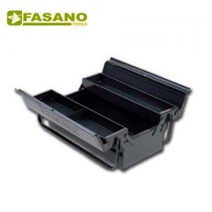 Εργαλειοθήκη μεταλλική 3 θέσεων 430x160x200mm FG 111/A FASANO Tools Εργαλειοθήκες