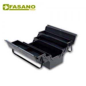 Εργαλειοθήκη μεταλλική 5 θέσεων 430x200x200mm FG 111/B FASANO Tools Εργαλειοθήκες