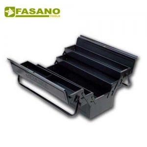 Εργαλειοθήκη μεταλλική 5 θέσεων 530x200x200mm FG 111/C FASANO Tools Εργαλειοθήκες