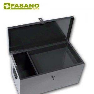 Μπαούλο μεταλλικό με χειρολαβές & εσωτερικό χώρισμα 500X250X250mm FG 112/C FASANO Tools Εργαλειοθήκες