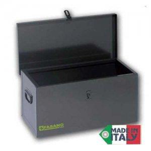 Μπαούλο μεταλλικό με χειρολαβές 500x250x250mm FG 112A FASANO Tools Εργαλειοθήκες