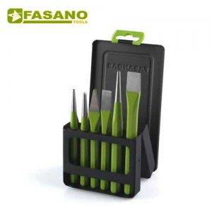 Σετ βελόνια - καλέμια - ζουμπάδες 6 τεμαχίων FG 127/S1 FASANO Tools Ζουμπάδες - Κοπίδια
