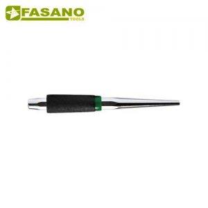 Ζουμπάς κωνικός 6mm με επένδυση χειρολαβής FG 128/PU6 FASANO Tools Ζουμπάδες - Καλέμια - Κοπίδια - Σταυροκόπιδα