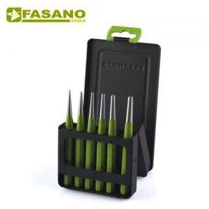 Σετ κωνικοί ζουμπάδες 6 τεμαχίων FG 128P/S6 FASANO Tools Ζουμπάδες - Κοπίδια