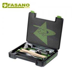 Σετ σφυριά και κόντρες φανοποιού 10 τεμαχίων FG 130/S10 FASANO Tools Φανοποϊία