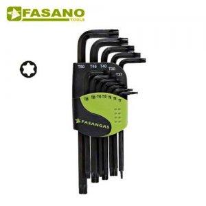 Σετ κλειδιά torx TX7-TX50 σε θήκη FG 138 FASANO Tools Κλειδιά