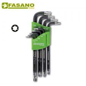 Σετ κλειδιά torx μαγνητικά TX10-TX50 σε θήκη FG 138/M FASANO Tools Κλειδιά