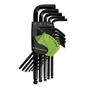 Σετ κλειδιά άλλεν μπίλιας 1,5-10mm σε θήκη FG 139 FASANO Tools Κλειδιά