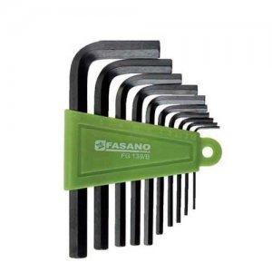Σετ κλειδιά άλλεν 1,5-10mm FG 139/B FASANO Tools Κλειδιά