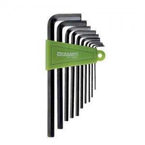 Σετ κλειδιά άλλεν 1,5-10mm μακρυά FG 139/C FASANO Tools Κλειδιά