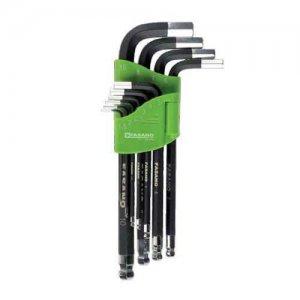 Σετ κλειδιά άλλεν μπίλιας μαγνητικά 1,5-10mm σε θήκη FG 139/LM FASANO Tools Κλειδιά