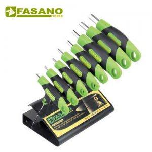 Σετ με 8 κλειδιά άλλεν τάφ FG 142/S8 FASANO Tools Κλειδιά