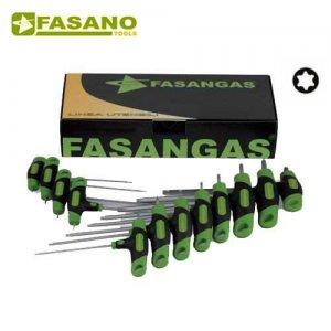 Σετ με 12 κλειδιά Torx ταφ FG 143TX/S12 FASANO Tools Κλειδιά