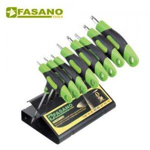 Σετ με 8 κλειδιά Torx ταφ FG 143TX/S8 FASANO Tools Κλειδιά