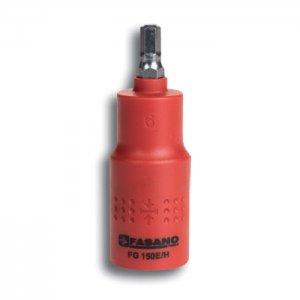 Καρυδάκι άλλεν 6mm με μόνωση 1000 Volt FG 150E/H6 FASANO Tools