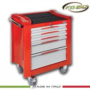 Εργαλειοφόρος τροχήλατος 5 συρταριών FG 150R/5G FASANO Tools|Εργαλειοφόροι τροχήλατοι| karaiskostools.gr