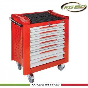 Εργαλειοφόρος τροχήλατος 7 συρταριών FG 150R/7G FASANO Tools |Εργαλειοφόροι τροχήλατοι| karaiskostools.gr