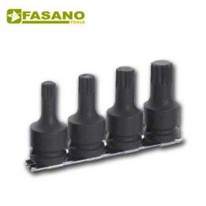 """Καρυδάκια κρούσης XZN 1/2"""" 4 τεμαχίων FG 152RM/S4 FASANO Tools Ειδικά Καρυδάκια & Εργαλεία"""