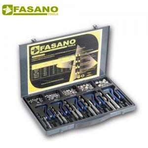 """Συλλογή επισκευής κατεστραμένων σπειρωμάτων """"helicoil"""" M5-M12 FG 181/S130 FASANO Tools"""