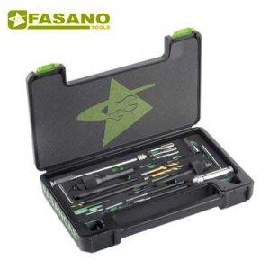 Κασετίνα επισκευής κατεστραμένων προθερμαντήρων FG 182/S16 FASANO Tools Ανάφλεξη - Μπουζί