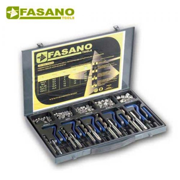 Κασετίνα επισκευής σπειρωμάτων helicoil M5-M12 FG 193/S82B FASANO Tools Πριόνισμα - Κοπή