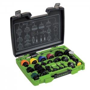 Σετ διάγνωσης-σέρβις-πληρωσης συστημάτων ψύξης FG 203/S20 FASANO Tools | Εργαλεία Συνεργείου - Ψύξη - Κλιματισμός | karaiskostools.gr