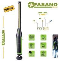 Φακός συνεργείου επαναφορτιζόμενος λεπτός 600 lumens FG 211 FASANO Tools Φωτισμός