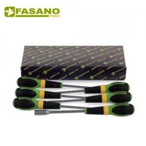 Σετ κατσαβίδια καρυδάκια 9 τεμαχίων FG 22FX/S9 FASANO Tools Κατσαβίδια & Μύτες