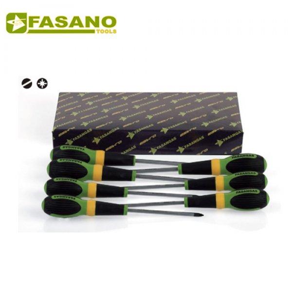 Σετ κατσαβίδια ίσια & σταυρού 7 τεμαχίων FG 22/S7 FASANO Tools Κατσαβίδια & Μύτες