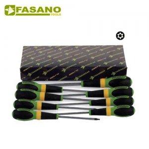 Σετ κατσαβίδια Resistorx 12 τεμαχίων FG 22RTX/S12 FASANO Tools Κατσαβίδια & Μύτες