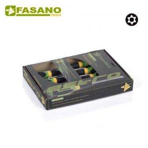 Σετ κατσαβίδια Resistorx 6 τεμαχίων FG 22RTX/S6 FASANO Tools Κατσαβίδια & Μύτες
