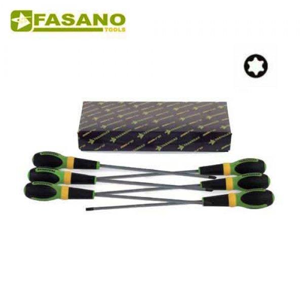 Σετ κατσαβίδια Torx μακρυά 8 τεμαχίων FG 22TX/LS8 FASANO Tools Κατσαβίδια & Μύτες