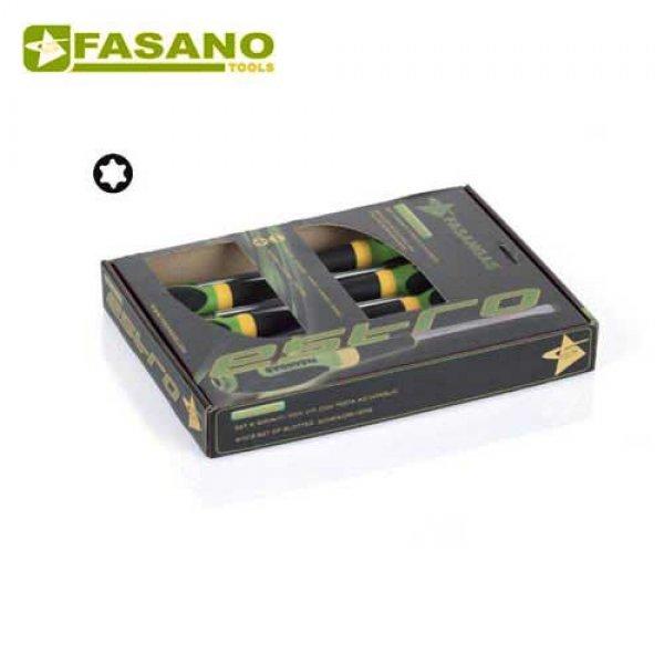 Σετ κατσαβίδια Torx 6 τεμαχίων FG 22TX/S6 FASANO Tools Κατσαβίδια & Μύτες