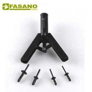 Πριτσιναδόρος χειρός για πλαστικά πριτσίνια 5-6,3mm FG 260/RP FASANO Tools Πριόνισμα - Κοπή