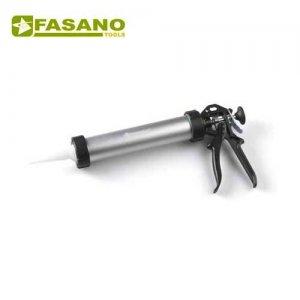 Πιστόλι σιλικόνης αλουμινίου χειρός 300cc FG 493/AL FASANO Tools Πιστόλια