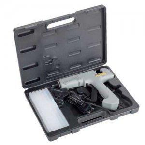 Πιστόλι θερμόκολλας σε κασετίνα με 12 ράβδους σιλικόνης 80 Watt FG 494/S12 FASANO Tools Πιστόλια Κόλλας
