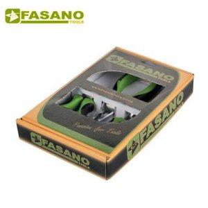 Σετ πένσα - κόφτης - μυτοτσίμπιδο 160mm SOFT-RUN FG 59SR/S3 FASANO Tools Πένσες