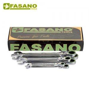 Σετ γερμανοπολύγωνα καστάνιας σπαστά 12τεμ. FG 610FL/SC12 FASANO Tools Κλειδιά