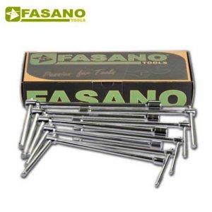 Σετ ταφ κλειδιά σταθερά 6-19mm 10 τεμαχίων FG 616/S10 FASANO Tools Κλειδιά