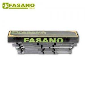 Σετ ταφάκια εξάγωνα σπαστά 8-19mm 10 τεμαχίων FG 618/S10 FASANO Tools Κλειδιά