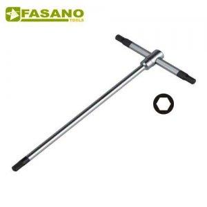 Κλειδί άλλεν ταφ 7mm FG 621/H7 FASANO Tools