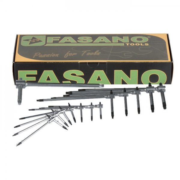 Σετ με 13 κλειδιά τάφ TORX FG 621TX/S13 FASANO Tools | Εργαλεία Χειρός - Κλειδιά | karaiskostools.gr