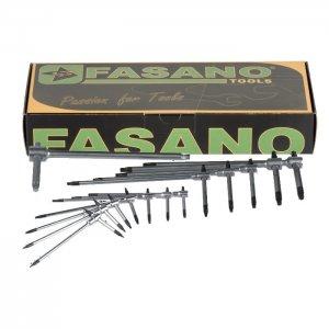 Σετ με 8 κλειδιά τάφ TORX FG 621TX/S8B FASANO Tools | Εργαλεία Χειρός - Κλειδιά | karaiskostools.gr