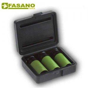 Σετ καρυδάκια για ζάντες αλουμινίου 17-19-21mm σε κασετίνα FG 628/S3 FASANO Tools Τροχοί - Μουαγιέ
