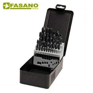 Σετ τρυπάνια αέρος HSS 1-13mm x 0,5mm 25 τεμαχίων FG 75HSS/S25 FASANO Tools Πριόνισμα - Κοπή