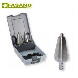 Σετ τρυπάνια κωνικά HSS 3 τεμαχίων 3 - 30,5mm FG 80HSS/S3 FASANO Tools Πριόνισμα - Κοπή