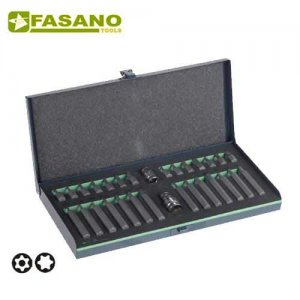 Συλλογή μύτες 10mm torx & αντάπτορες 30 τεμαχίων FG 86/S30 FASANO Tools Κατσαβίδια & Μύτες
