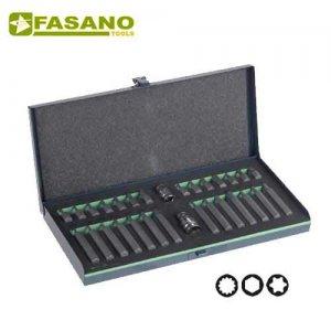 Συλλογή μύτες 10mm & αντάπτορες 30 τεμαχίων FG 86/S30B FASANO Tools Κατσαβίδια & Μύτες