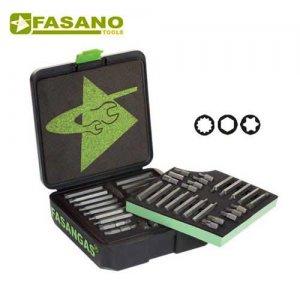 Συλλογή μύτες 10mm & αντάπτορες 85 τεμαχίων FG 86/S52 FASANO Tools Κατσαβίδια & Μύτες